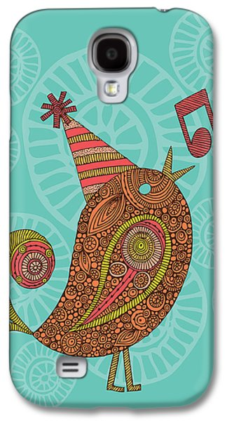 Singing Bird Galaxy S4 Case by Valentina Ramos