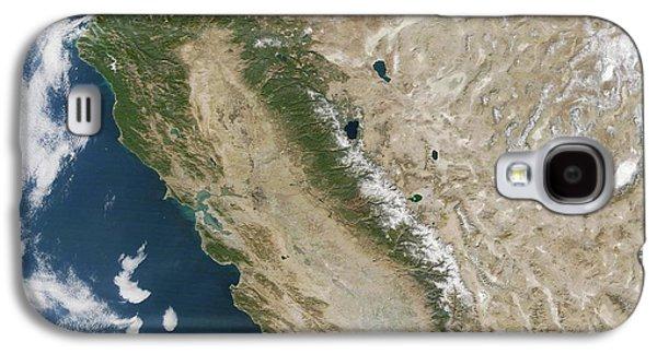 Snow On The Sierra Nevada Galaxy S4 Case by Nasa