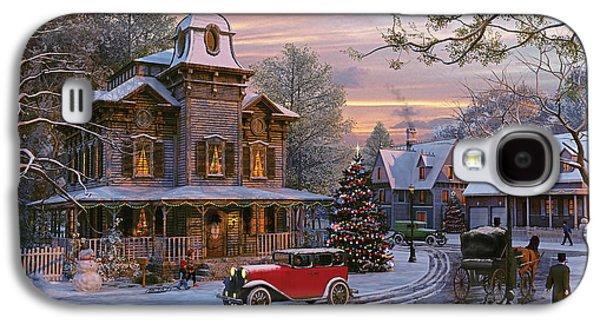 Snow Streets Galaxy S4 Case by Dominic Davison