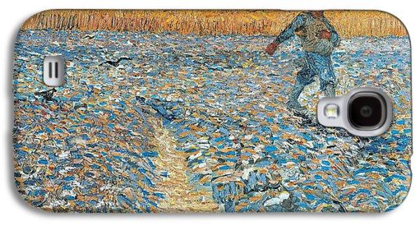 Sower Galaxy S4 Case by Vincent van Gogh