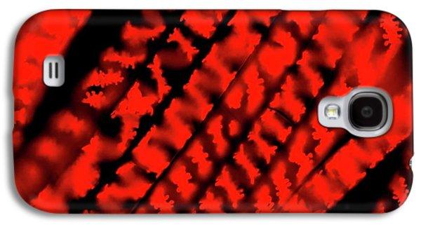 Spirogyra Sp. Green Alga Galaxy S4 Case