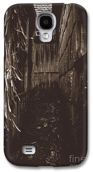 Spooky Early Settlers Rundown Country House Galaxy S4 Case