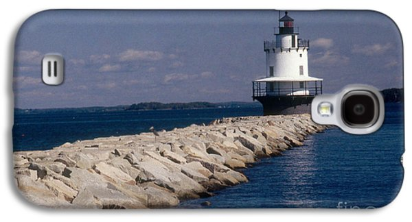 Spring Point Ledge Lighthouse Galaxy S4 Case by Bruce Roberts