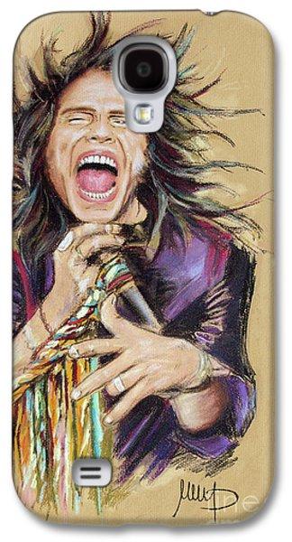 Steven Tyler Galaxy S4 Case - Steven Tyler  by Melanie D