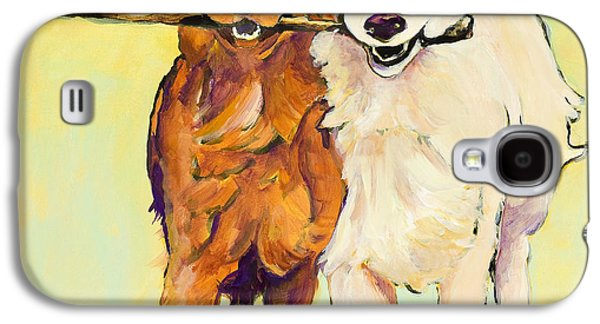 Stick With Me Galaxy S4 Case by Pat Saunders-White