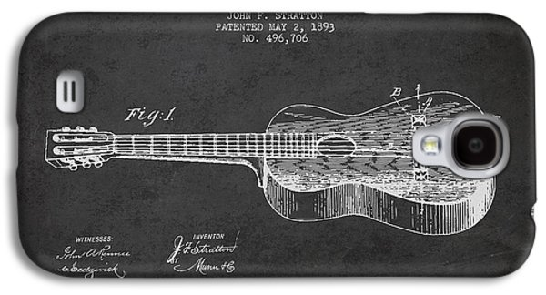 Stratton Guitar Patent Drawing From 1893 Galaxy S4 Case