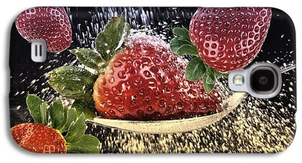 Strawberries Galaxy S4 Case by Manfred Lutzius