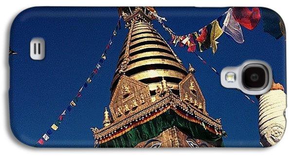 Architecture Galaxy S4 Case - Stupa Swayambhunath by Raimond Klavins