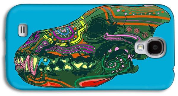 Folk Art Galaxy S4 Case - Sugar Wolf by Nelson Dedos Garcia