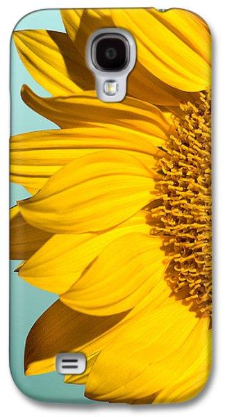 Sunflower Galaxy S4 Case - Sunflower by Mark Ashkenazi