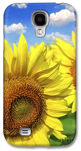 Sunflowers Galaxy S4 Case by Elena Elisseeva