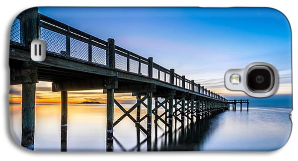 Sunrise Under The Boardwalk Galaxy S4 Case