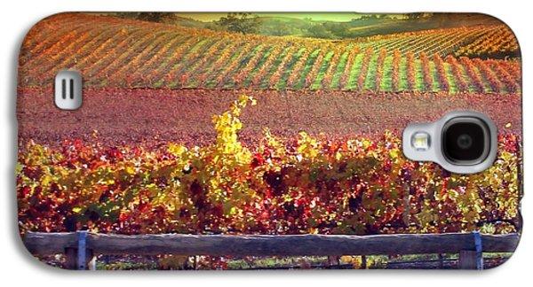 Sunrise Vineyard Galaxy S4 Case by Stephanie Laird