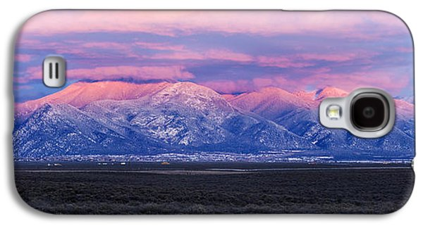 Sunset Over Mountain Range, Sangre De Galaxy S4 Case