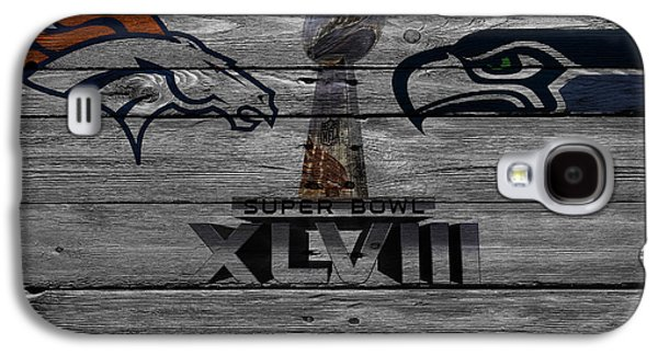 New York Mets Galaxy S4 Case - Super Bowl Xlviii by Joe Hamilton