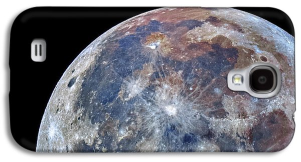 Surface Of The Moon Galaxy S4 Case