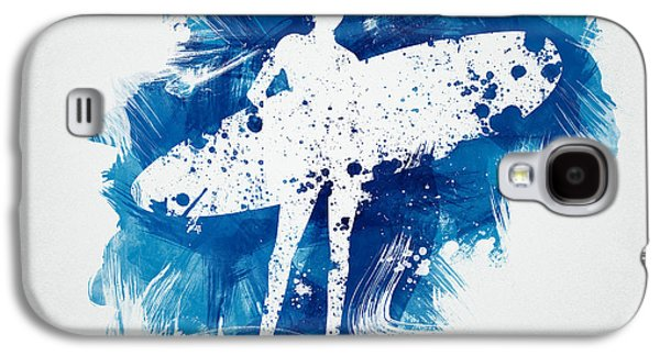 Surfer Girl Galaxy S4 Case by Aged Pixel
