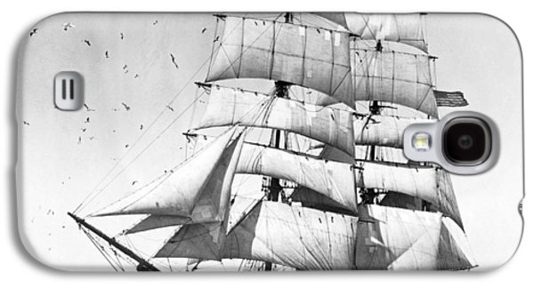 Tall Sailing Ship Galaxy S4 Case by Underwood Archives