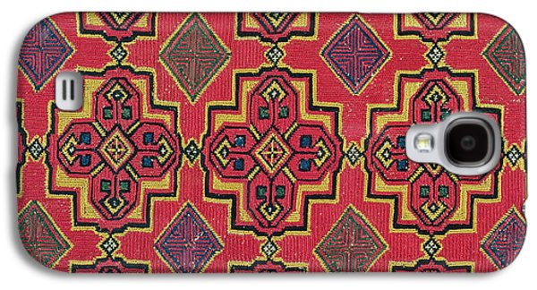 Textile With Geometric Pattern Galaxy S4 Case by Moroccan School