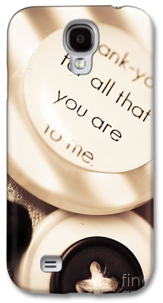 Thank You Wedding Buttons. Low Dof Macro Galaxy S4 Case by Jorgo Photography - Wall Art Gallery