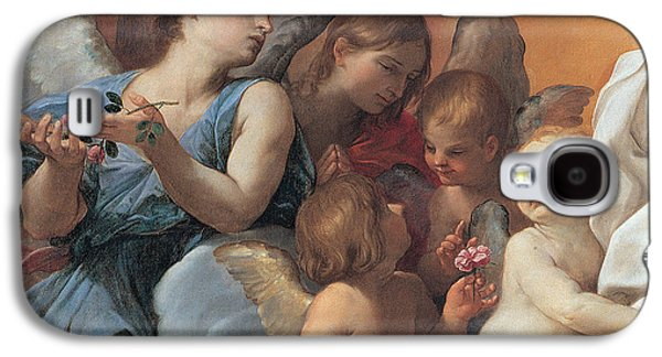 The Assumption Of The Virgin Mary Galaxy S4 Case by Guido Reni