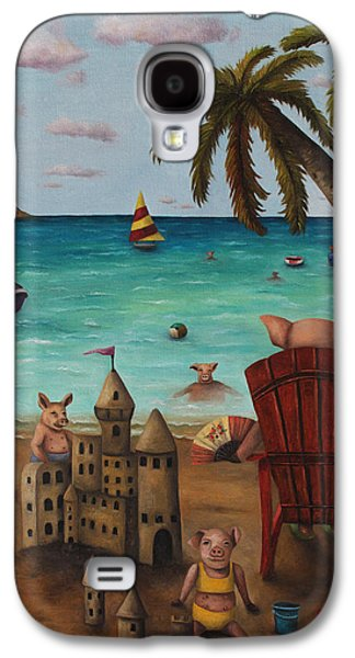 The Bacon Shortage Galaxy S4 Case by Leah Saulnier The Painting Maniac