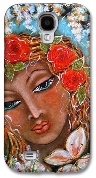 The Fairies In Merlynn's Garden Galaxy S4 Case by Maya Telford