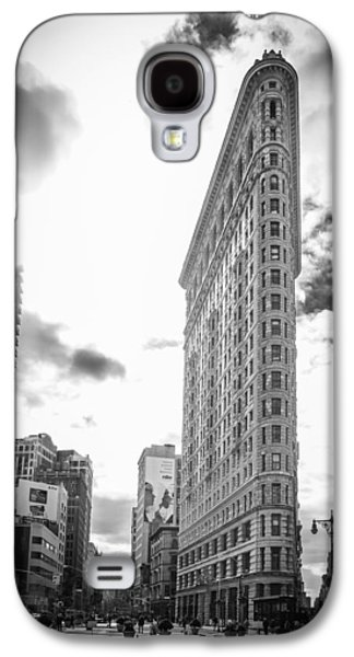 The Famous Flatiron Building - New York City Galaxy S4 Case by Erin Cadigan