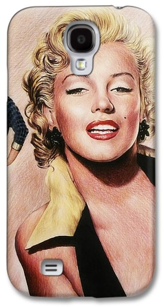 The Glamour Days Marilyn Monroe Galaxy S4 Case by Andrew Read