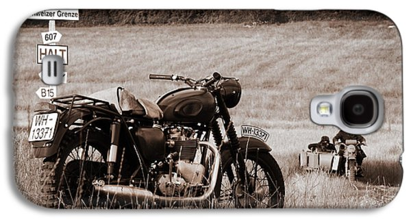 The Great Escape Motorcycle Galaxy S4 Case by Mark Rogan