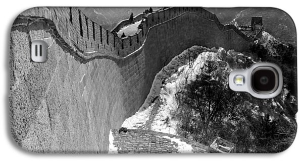 The Great Wall Of China Galaxy S4 Case by Sebastian Musial