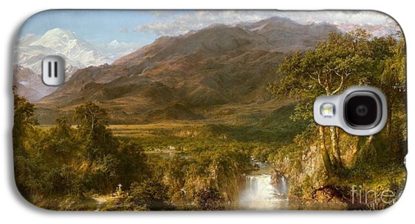 The Heart Of The Andes Galaxy S4 Case by Celestial Images