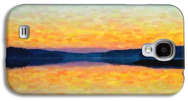 The Lake Galaxy S4 Case by Tommytechno Sweden