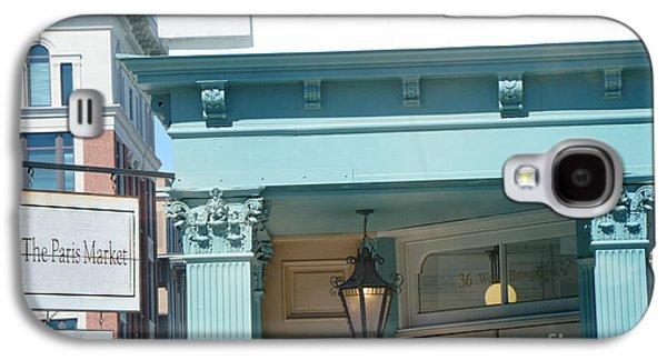 The Paris Market - Savannah Georgia Paris Market - Paris Macaron Shop - Parisian Brocante Shop Galaxy S4 Case by Kathy Fornal