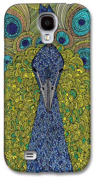 The Peacock Galaxy S4 Case by Valentina Ramos