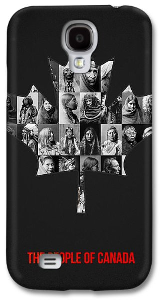 The People Of Canada Galaxy S4 Case by Aged Pixel
