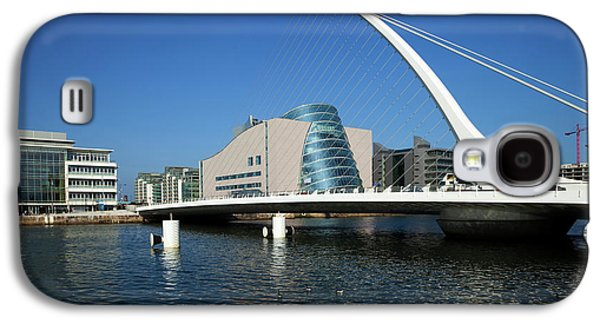 The Samual Beckett Bridge Galaxy S4 Case by Panoramic Images