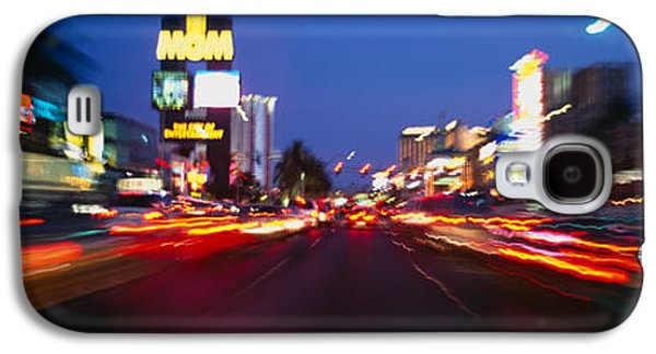 The Strip At Dusk, Las Vegas, Nevada Galaxy S4 Case by Panoramic Images