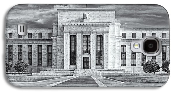 The Us Federal Reserve Board Building Galaxy S4 Case by Susan Candelario