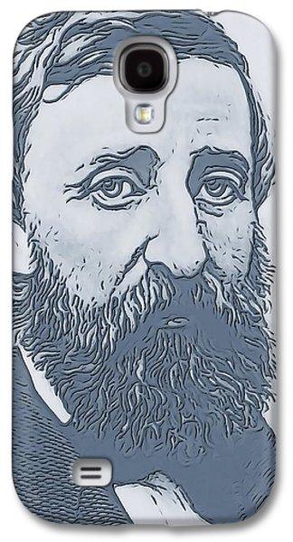Thoreau Galaxy S4 Case by Dan Sproul