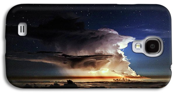 Thunderstorm From Haleakala Galaxy S4 Case by Babak Tafreshi