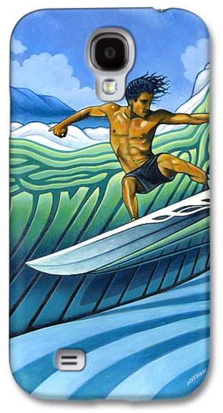 Tico Surfer Galaxy S4 Case by Nathan Miller