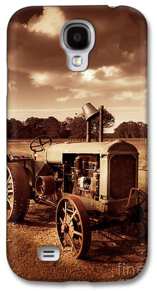 Tractor From Yesteryear Galaxy S4 Case by Jorgo Photography - Wall Art Gallery