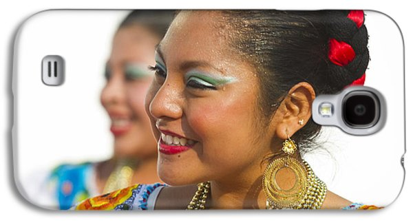 Traditional Ethnic Dancers In Chiapas Mexico Galaxy S4 Case by David Smith