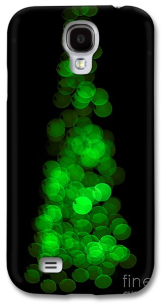 Tree Of Christmas Focus Galaxy S4 Case
