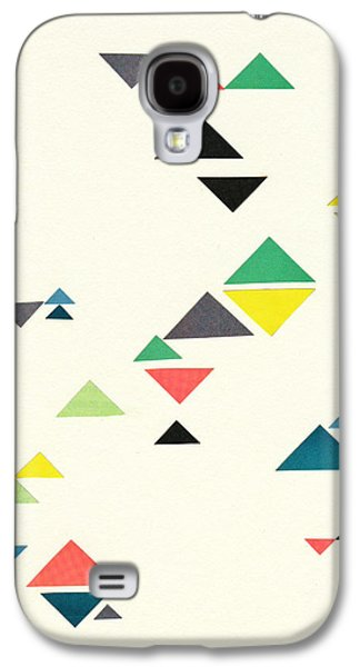 Triangles Galaxy S4 Case by Cassia Beck