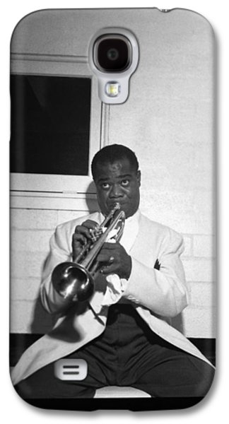Trumpeter Louis Armstrong Galaxy S4 Case by Underwood Archives