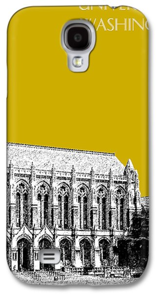 University Of Washington - Suzzallo Library - Gold Galaxy S4 Case by DB Artist