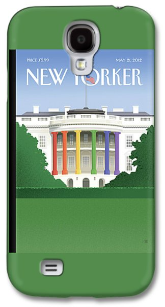 New Yorker May 21st, 2012 Galaxy S4 Case