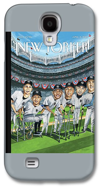 New Yorker April 8th, 2013 Galaxy S4 Case